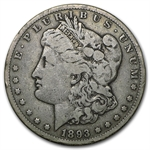 1893-CC Morgan Dollar - Fine