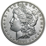 1896-O Morgan Dollar - Almost Uncirculated-50