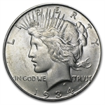 1934-D Peace Dollar - Brilliant Uncirculated