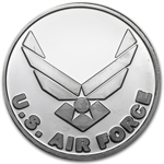 1 oz U.S. Air Force Silver Round (w/Gift Box & Capsule)
