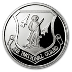 1 oz U.S. Air National Guard Silver Round (w/Gift Box & Capsule)