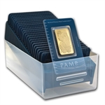 1 oz Pamp Suisse Gold Bar .9999 Fine (In Assay)