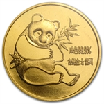 1982 (1/4 oz) Gold Chinese Pandas - (Sealed)