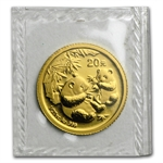 2006 (1/20 oz) Gold Chinese Pandas - (Sealed)