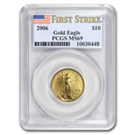2006 1/4 oz Gold American Eagle MS-69 PCGS (First Strike)