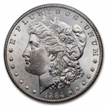 1884-CC Morgan Dollar - MS-64 PCGS