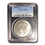 1887-O Morgan Dollar MS-63 PCGS