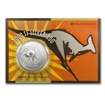 2000 1 oz Australian Silver Kangaroo (In Display Card)