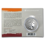 2003 1 oz Australian Silver Kangaroo (In Display Card)