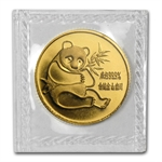 1982 (1/10 oz) Gold Chinese Pandas - (Sealed)