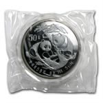 1988 - (5 oz) Silver Panda Proof (W/Box & COA)