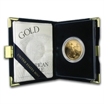 2001-W 1 oz Proof Gold American Eagle (w/Box & CoA)