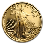 2004-W 1/4 oz Proof Gold American Eagle (w/Box & CoA)