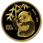 1995 1 oz Gold Chinese Panda - Small Date (Sealed)