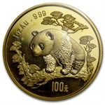 1997 1 oz Gold Chinese Panda - Large Date (Sealed)