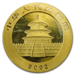 2002 1 oz Gold Chinese Panda (Sealed)