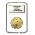 2000 1 oz Gold American Eagle MS-69 NGC
