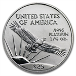 2002 1/4 oz Platinum American Eagle - Brilliant Uncirculated