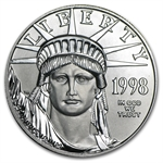 1998 1 oz Platinum American Eagle - Brilliant Uncirculated
