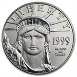1999 1 oz Platinum American Eagle - Brilliant Uncirculated