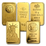 10 gram Gold Bar (Secondary Market) .999+ Fine