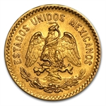 Mexico 1917 10 Pesos Gold Coin (Almost Uncirculated)