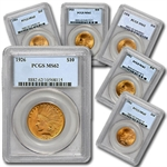 $10 Indian Gold Eagle - MS-62 PCGS