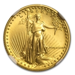 1987 1/10 oz Gold American Eagle MS-69 NGC