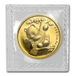 1996 (1/10 oz) Gold Chinese Panda - Small Date (Sealed)