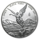 2006 1 oz Silver Mexican Libertad (Brilliant Uncirculated)