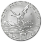 1998 2 oz Silver Mexican Libertad (Brilliant Uncirculated)