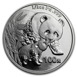 2004 1/2 oz Proof Palladium Chinese Panda (w/Box & CoA)