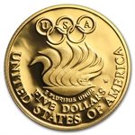 US Mint - $5 Gold Commemorative Coins - AGW .24187