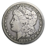 1883-CC Morgan Dollar - Fine