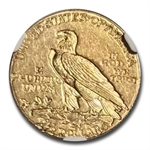 1910 $2.50 Indian Gold Quarter Eagle - AU-58 NGC