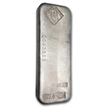 50 oz Johnson Matthey (Canada, Serial #) Silver Bar .999 Fine