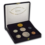 Canadian 1967 Centennial 7-Coin Proof Set with $20 Gold