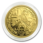 Australia 2000 100 Dollars Gold Proof Olympics AGW .3215
