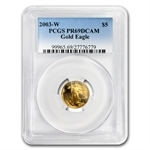 2003-W 1/10 oz Proof Gold American Eagle PR-69 PCGS