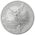 2002 2 oz Silver Mexican Libertad (Brilliant Uncirculated)