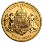 Hungary Gold 100 Korona (Jewelry Grade)