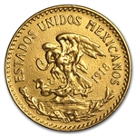 Mexico 20 Peso Gold Coin - Damaged