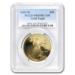 1995-W 1 oz Proof Gold American Eagle PR-69 PCGS