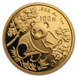 1992 (5 Coin PROOF) Gold Chinese Panda Set - (Original Box & Coa)
