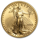 2004 1/10 oz Gold American Eagle - Brilliant Uncirculated