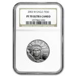 2003-W 1/2 oz Proof Platinum American Eagle PF-70 NGC