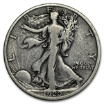 1920-D Walking Liberty Half Dollar (Fine)