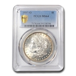 1887-O Morgan Dollar MS-64 PCGS