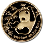 1985 (1/4 oz) Gold Chinese Pandas - MS-69 PCGS