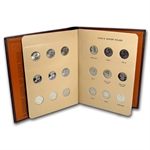 Susan B. Anthony Dollar 18 Coin Set (In Dansco Album)